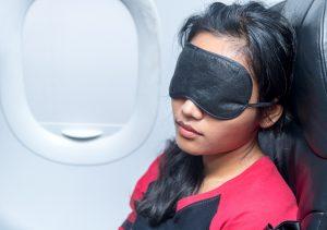 schlafmaske flugzeug