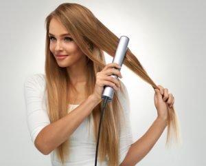 Die richtige Pflege ist wichtig für geglättete Haare