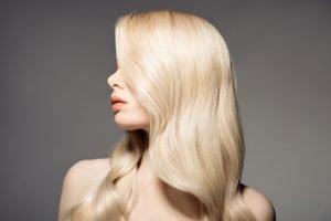Pflege blond