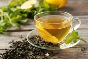 Patchouli im Tee