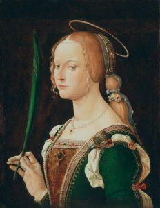 Blasse Haut in Renaissance