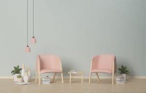 pink sessel
