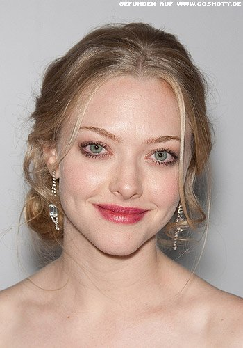 Amanda Seyfried: Romantischer Look aus lose gesteckten Locken