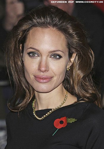 Frisuren Bilder Angelina Jolie Viel Volumen Am Ansatz Frisuren