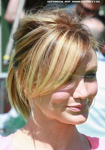 Frisuren Bilder Cameron Diaz Lässiger Zopf Im Undone Look