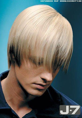 Color-Duo mit stark ausgedünnten Haarenden