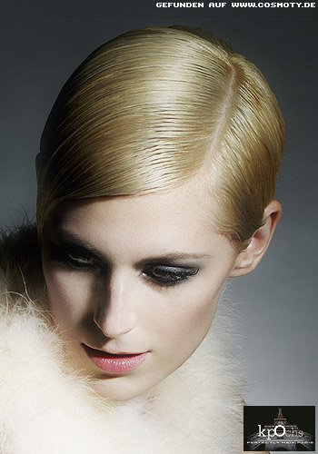 Eleganter Gel-Pixie im Twiggy-Look