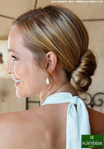 Frisuren Bilder Eleganter Nacken Dutt Frisuren Haare