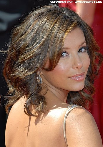 frisuren bilder eva longoria locken im schulterlangen bob frisuren haare. Black Bedroom Furniture Sets. Home Design Ideas
