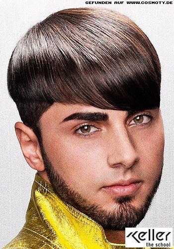 Frisuren Bilder Exakte Konturen Wirken Stylisch Im Glatten Haar