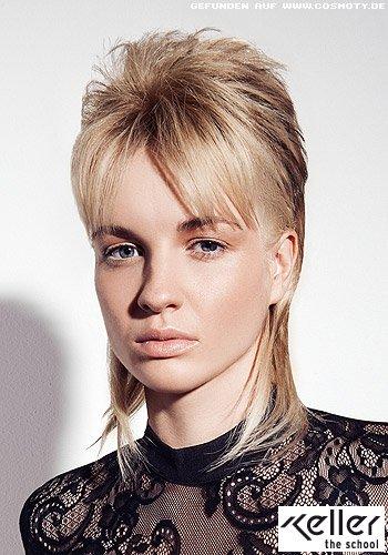 Frisuren Bilder: Extremer VoKuHiLa mit schmal gehaltenem ...