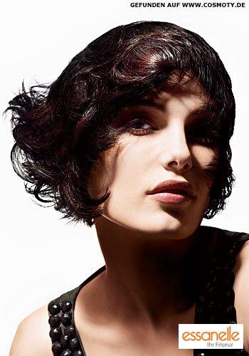 Frisuren Bilder Fransiger Bob Im Charleston Look Frisuren Haare