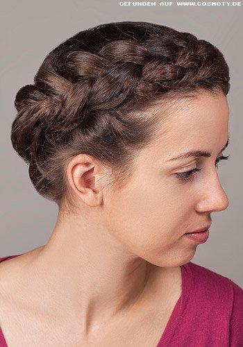 Geflochtener Gretchen-Haarkranz