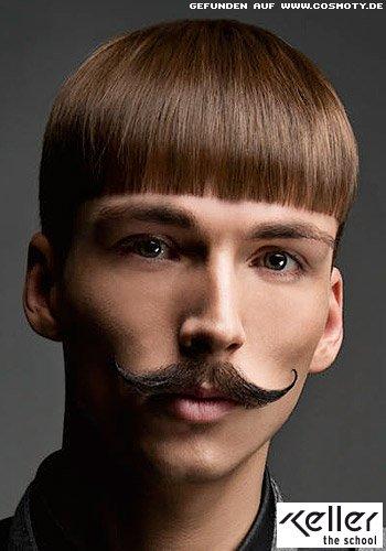 Frisuren Bilder Glatter Short Cut Im Pilzkopf Stil Frisuren Haare
