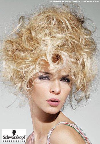 Frisuren Bilder Grosszugige Locken Locker Hochgesteckt Frisuren Haare