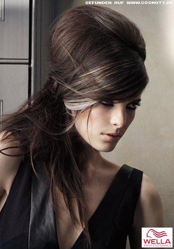 Frisuren Bilder Halb Gesteckter Beehive Frisuren Haare