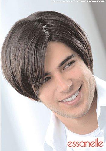 Frisuren Bilder Halblanges Haar Mit Lässigem Seitenscheitel