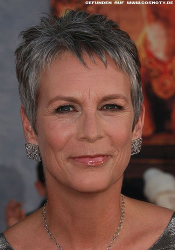 Jamie Lee Curtis: Edel strukturierter Short-Cut