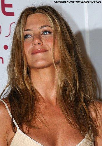 Frisuren Bilder Jennifer Aniston Mit Lockeren Beach Wellen