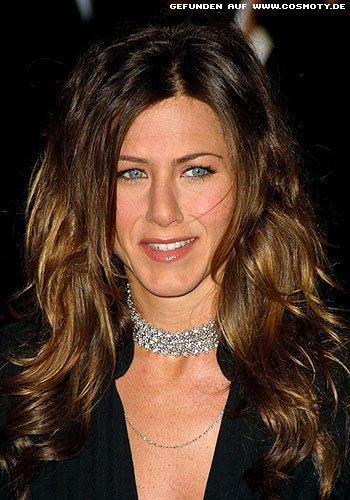Frisuren Bilder Jennifer Aniston Mit Naturlich Fallenden Wellen