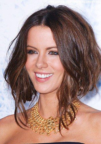 Kate Beckinsale: Hochstecktes Haar im Undon-Look