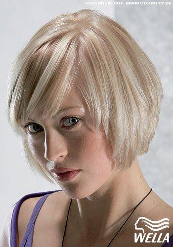 Frisuren Bilder Klassischer Bob Mit Wella Painting Frisuren Haare