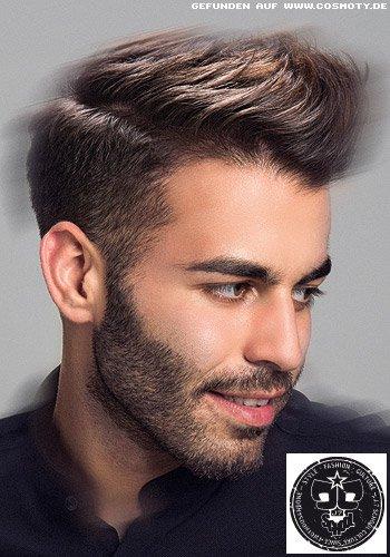 Kurzes Haar mit kleiner Tolle