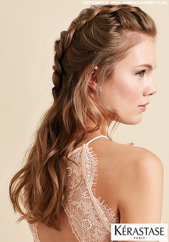 Locker geflochtene Boxing Braid in romantischem Look