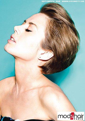Frisuren nach hinten frauen