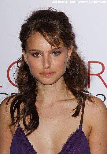 Natalie Portman mit halb gesteckten Wellen