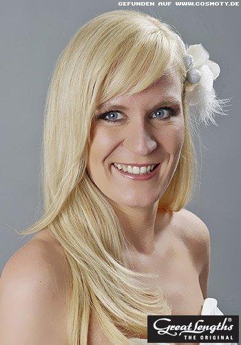 Natürlicher Braut-Look mit offenen Haaren