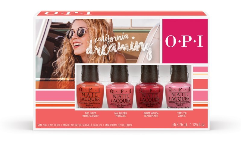 OPI California Dreaming Collection
