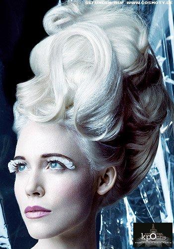 Opulent gesteckter Haardutt