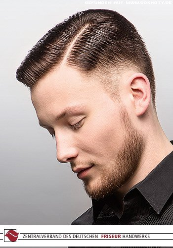 Frisuren Bilder Rasierter Scheitel Zum Wet Look Frisuren Haare