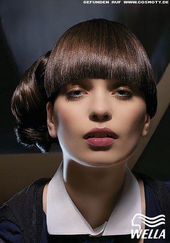 Frisuren Bilder Seitlich Geschlungener Knoten Frisuren Haare