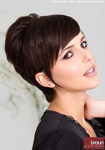 Short-Cut mit viel Volumen im Retro-Look