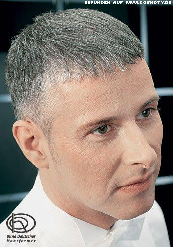 Frisuren Bilder Silbergrau Und Kurz Rasiert Frisuren Haare