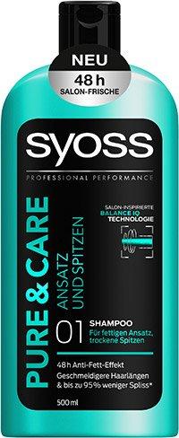 Pure Care Ansatz Und Spitzen Leichte Haarpflege Vom Ansatz Bis In
