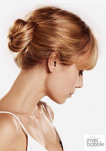Frisuren Bilder Tiefer Lockerer Ballerina Knoten Frisuren Haare