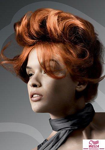 Frisuren Bilder Toupiertes Volumen Am Oberkopf Frisuren Haare