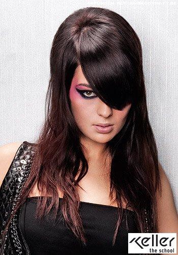 Frisuren Bilder Volumen Styling Für Langes Haar Im Seventies Stil