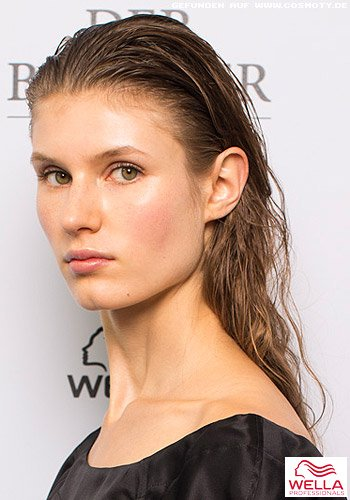 Wet-Look mit sanften Beach Waves