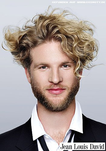Wilde Locken mit sexy Styling