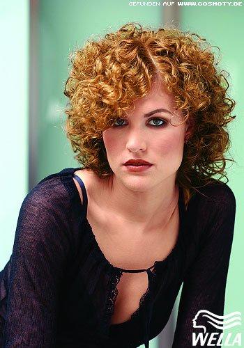 Frisuren Bilder Wilder Lockenkopf Frisuren Haare