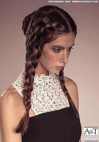 Frisuren Bilder Zopfe Im Web Muster Frisuren Haare