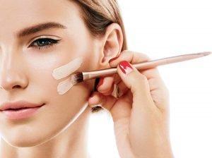 fluessiges make-up pinsel