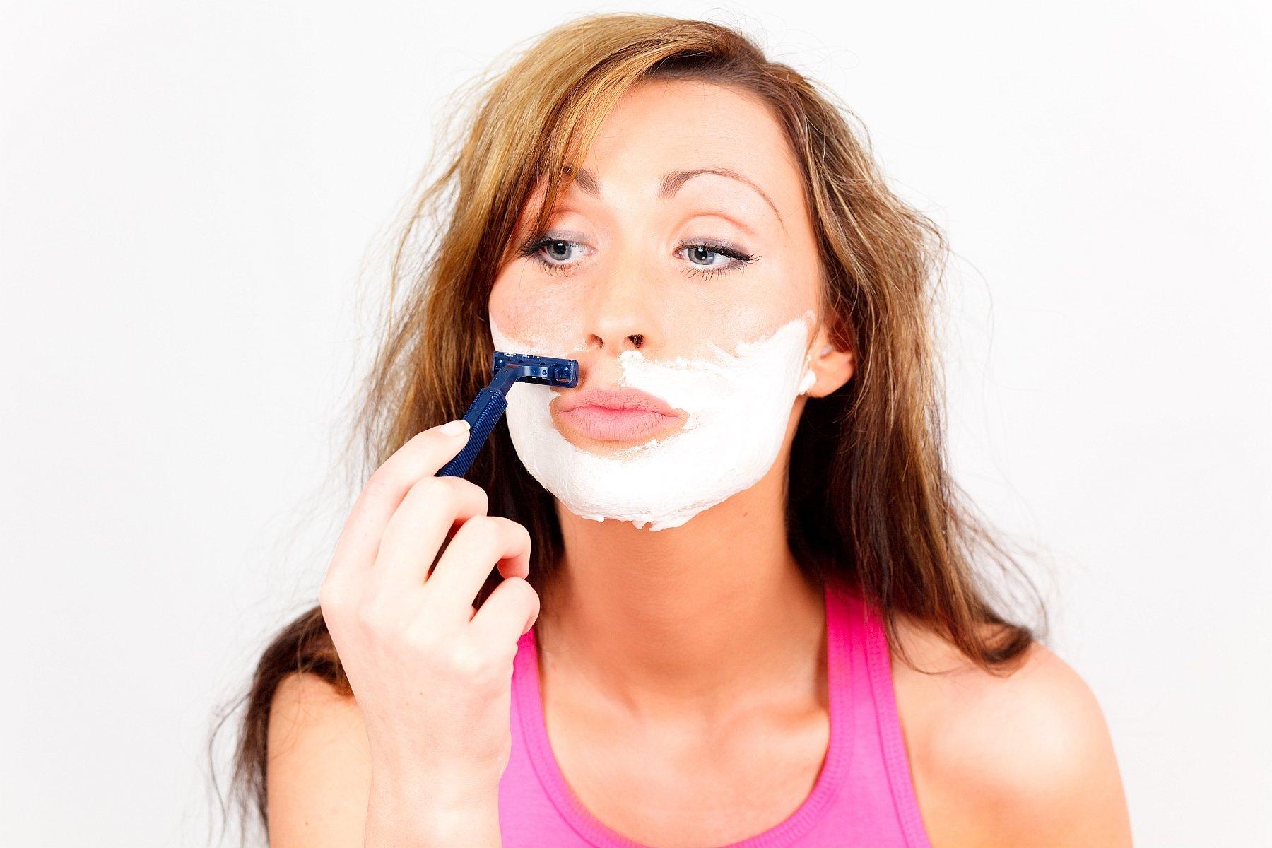 Haare Im Gesicht Entfernen Diese Methoden Funktionieren Am Besten