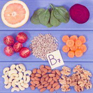 Ernaehrung Nahrungsergaenzungsmittel Biotin Schönheitsvitamin B7 Haut Haare