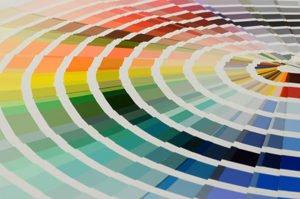 kreisförmiges Farbspektrum