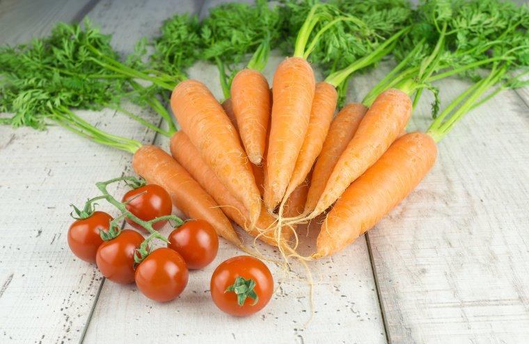 Für eine natürliche Bräune: Karotten und Tomaten sind längst kein Geheimtipp mehr.